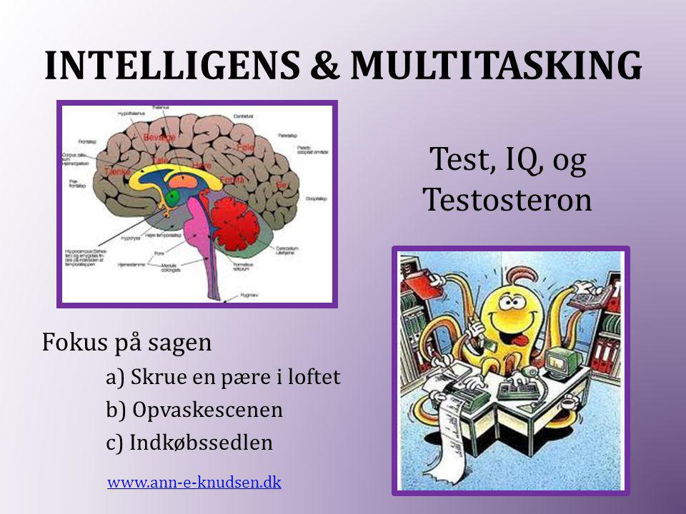 INTELLIGENS & MULTITASKING