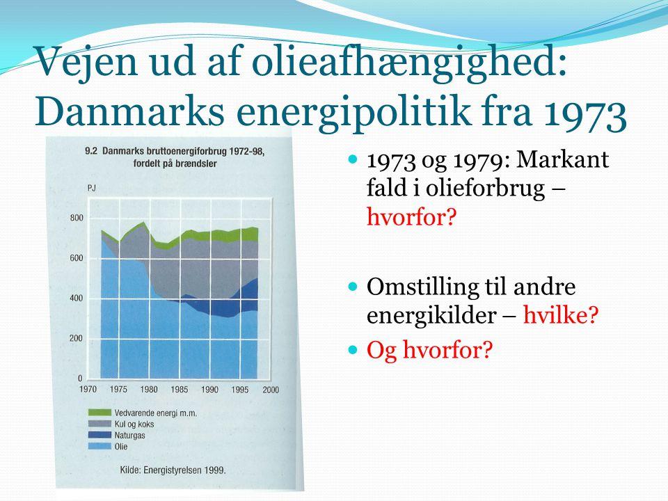 Vejen ud af olieafhængighed: Danmarks energipolitik fra 1973
