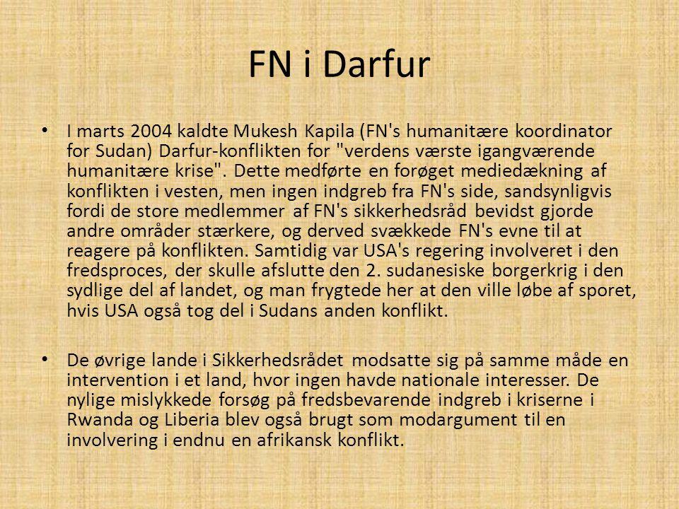 FN i Darfur