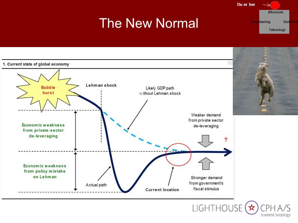The New Normal Du er her Økonomi Polarisering Sundhed Teknologi