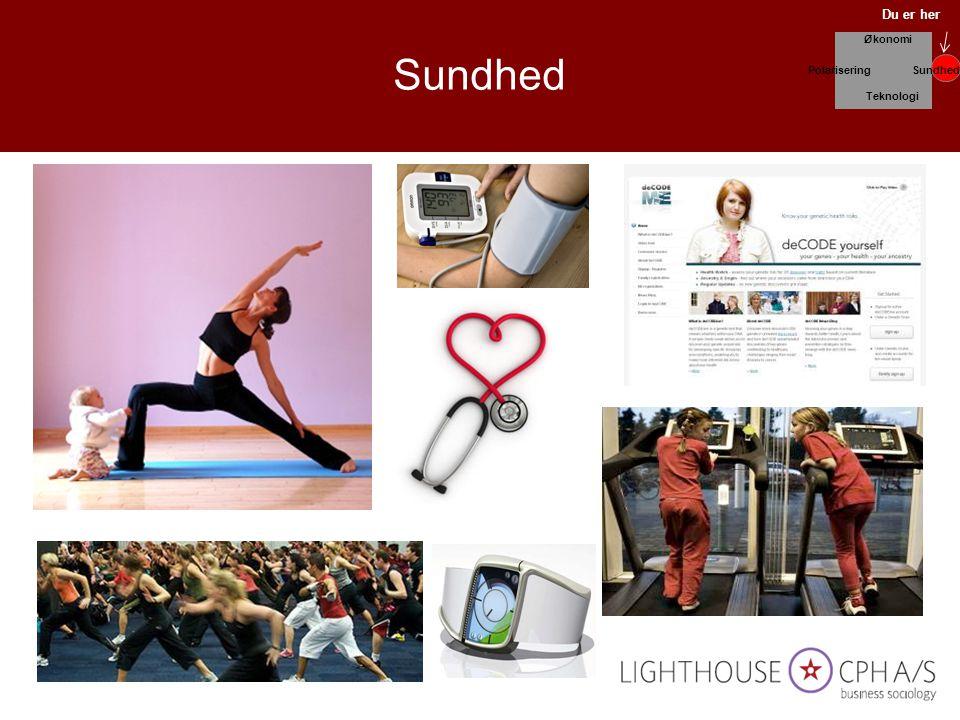 Sundhed Du er her Økonomi Polarisering Sundhed Teknologi