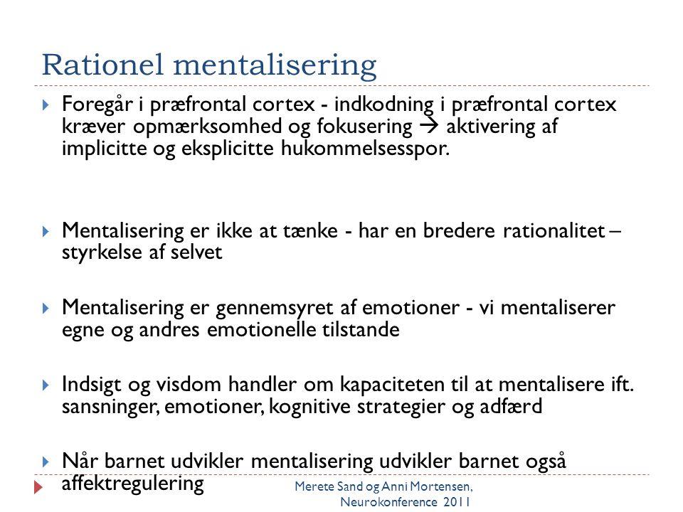 Rationel mentalisering