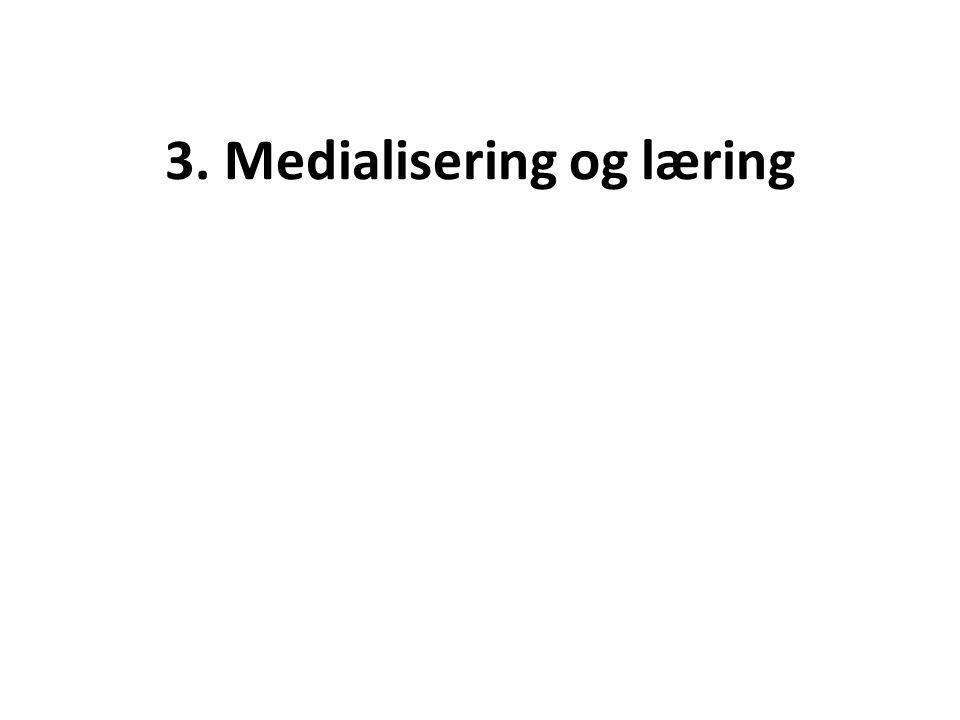 3. Medialisering og læring