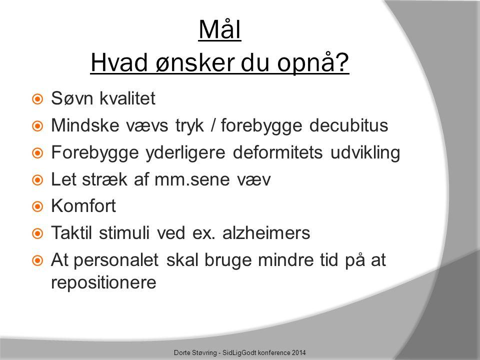 Dorte Støvring - SidLigGodt konference 2014