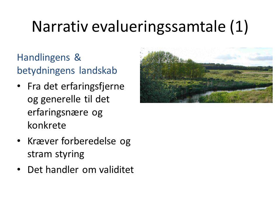 Narrativ evalueringssamtale (1)