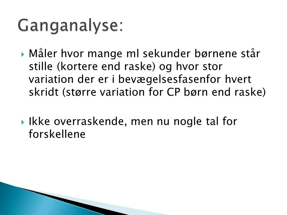 Ganganalyse: