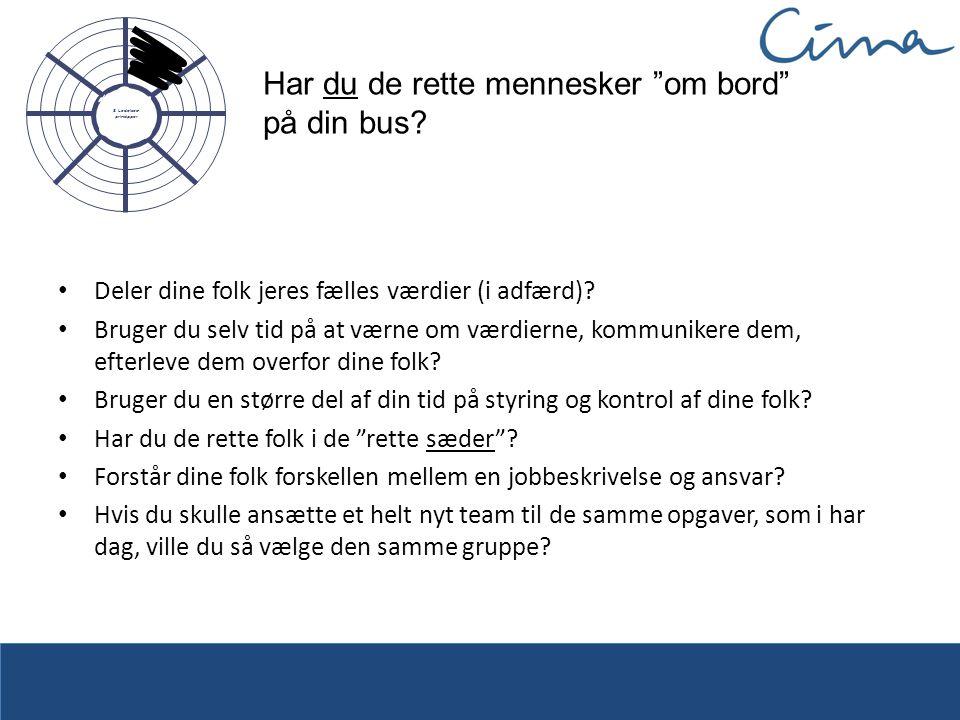 Har du de rette mennesker om bord på din bus