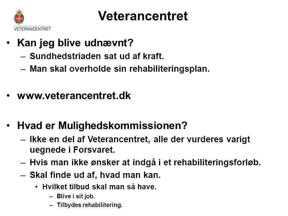 Veterancentret Kan jeg blive udnævnt www.veterancentret.dk