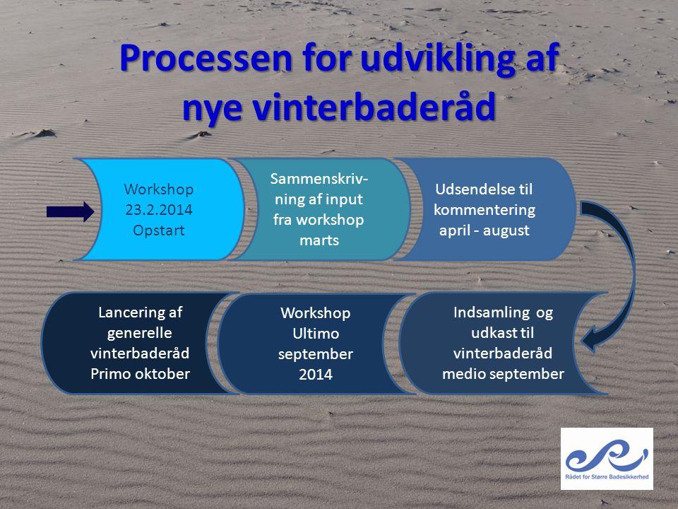 Processen for udvikling af nye vinterbaderåd