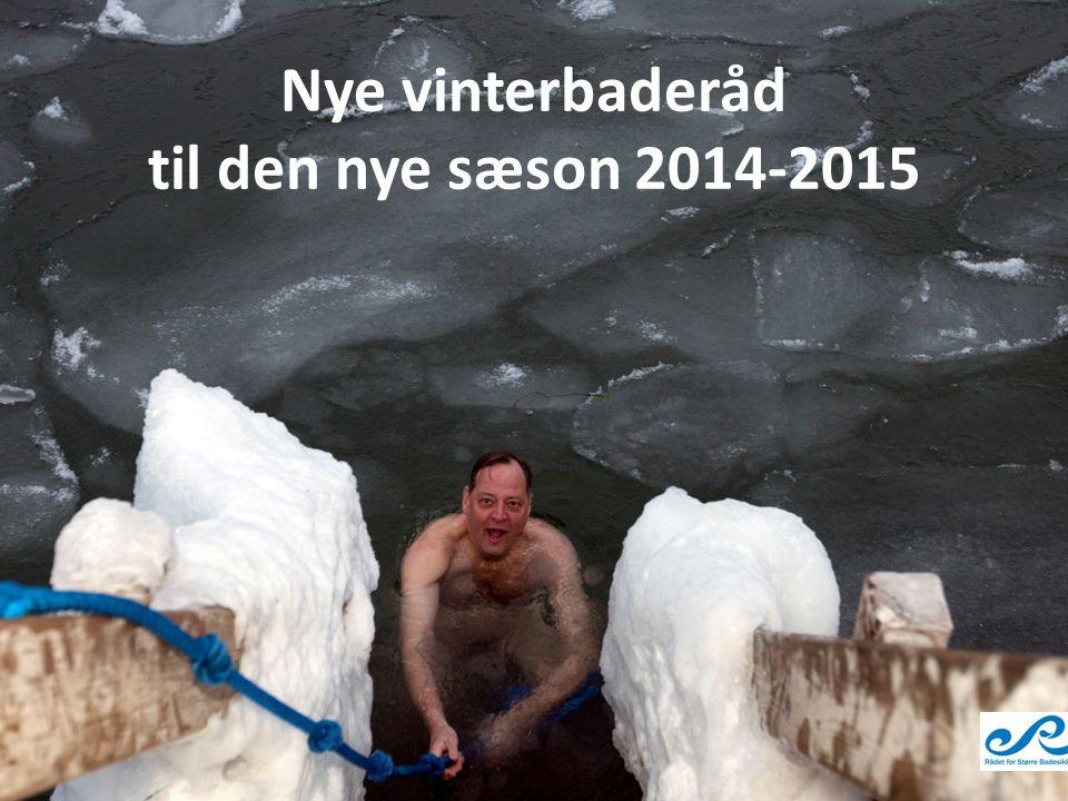Nye vinterbaderåd til den nye sæson 2014-2015