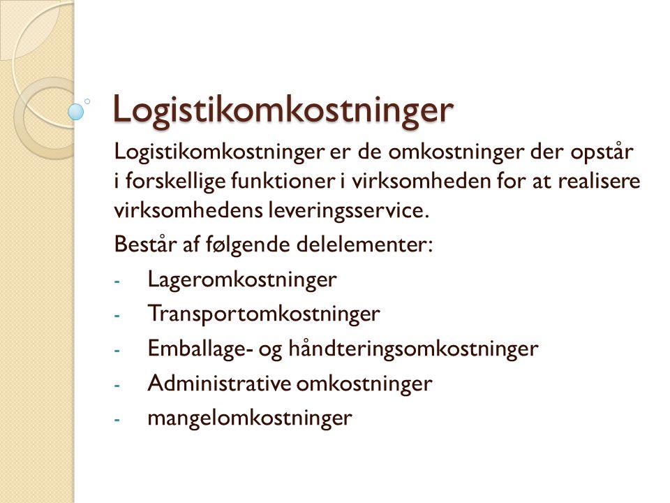 Logistikomkostninger