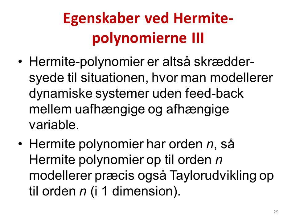 Egenskaber ved Hermite-polynomierne III