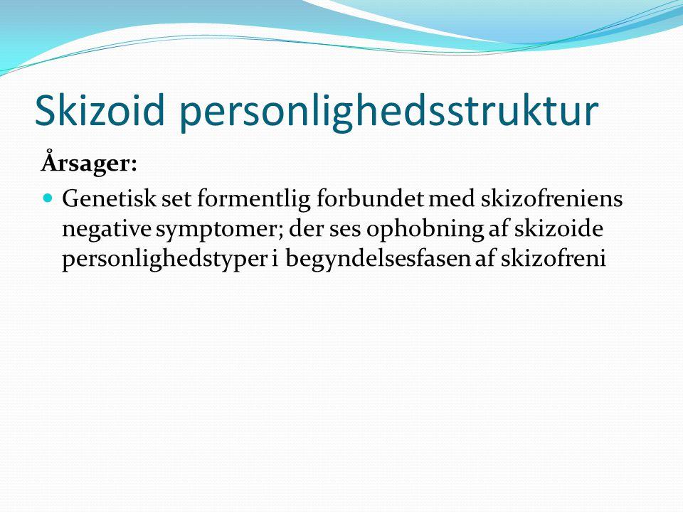 Skizoid personlighedsstruktur