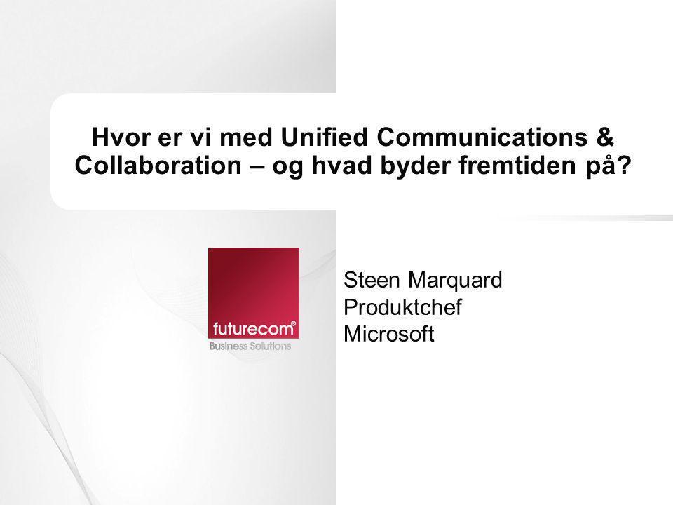Steen Marquard Produktchef Microsoft