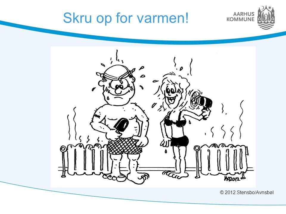 Skru op for varmen! © 2012 Stensbo/Avnsbøl