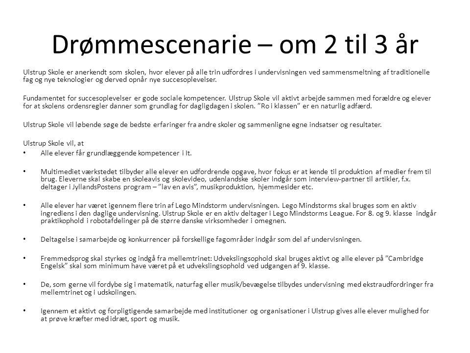 Drømmescenarie – om 2 til 3 år