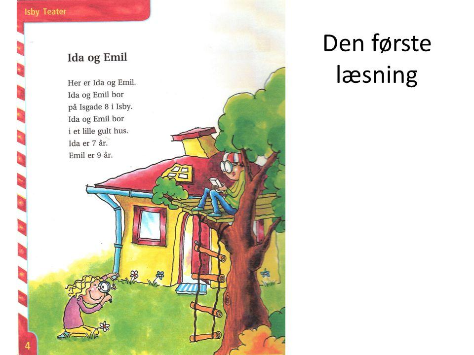 Den første læsning