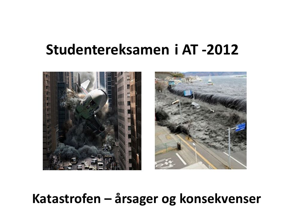 Studentereksamen i AT -2012