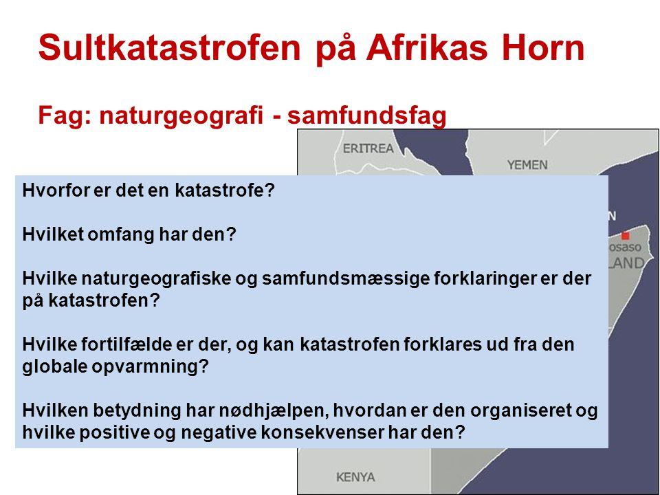 Sultkatastrofen på Afrikas Horn