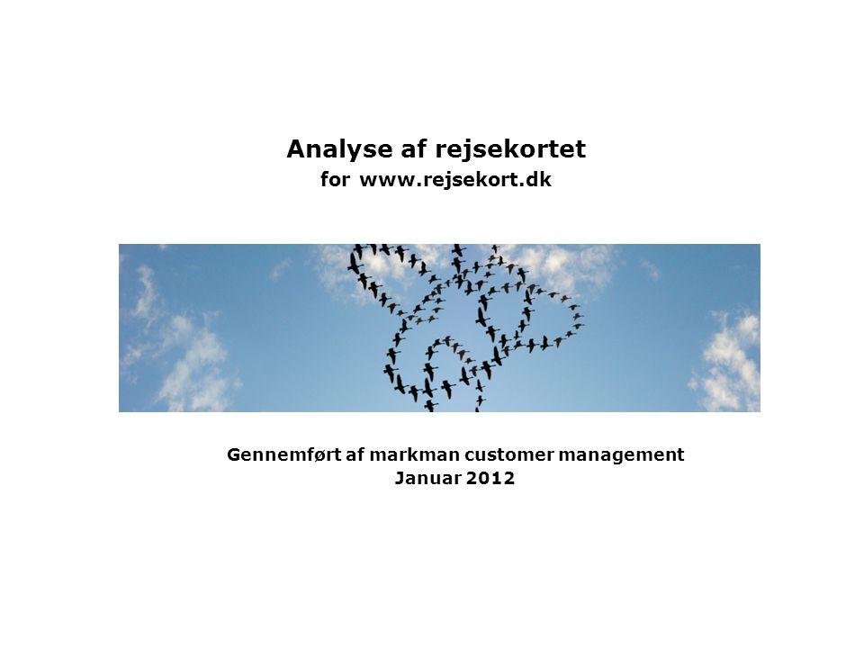 Analyse af rejsekortet for www.rejsekort.dk