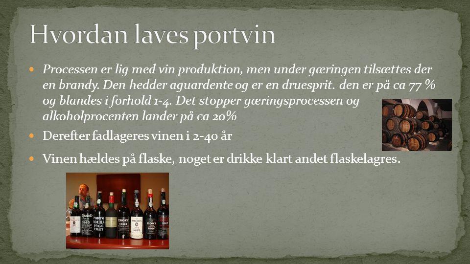Hvordan laves portvin