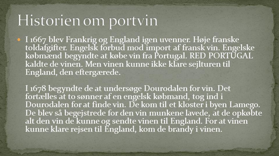 Historien om portvin