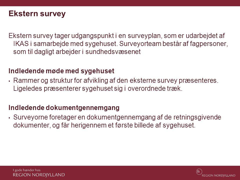 Ekstern survey