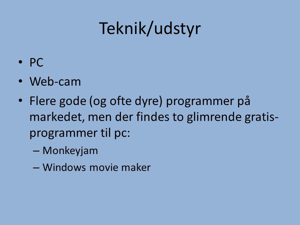 Teknik/udstyr PC Web-cam
