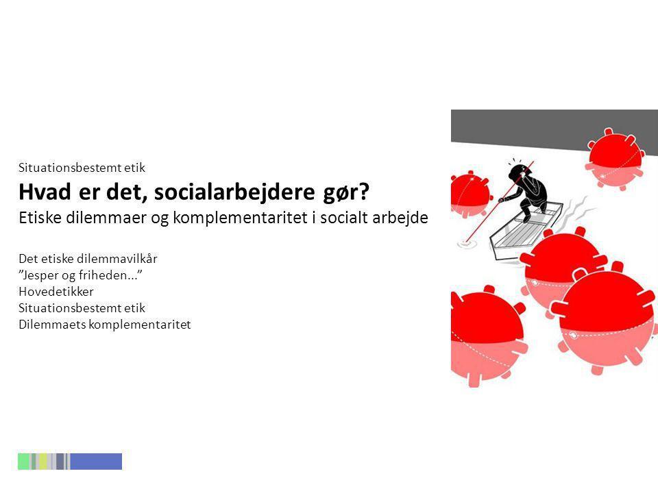 Hvad er det, socialarbejdere gør