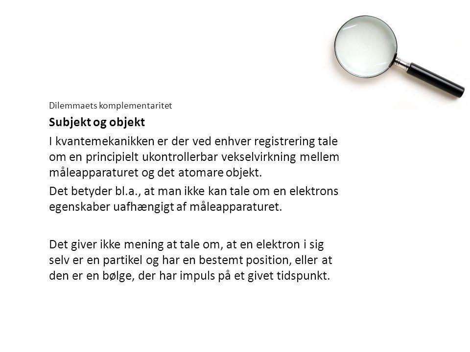 subjekt og objekt definisjon