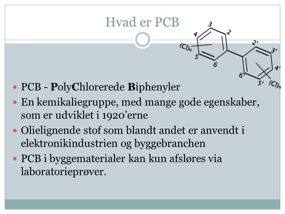 Hvad er PCB PCB - PolyChlorerede Biphenyler