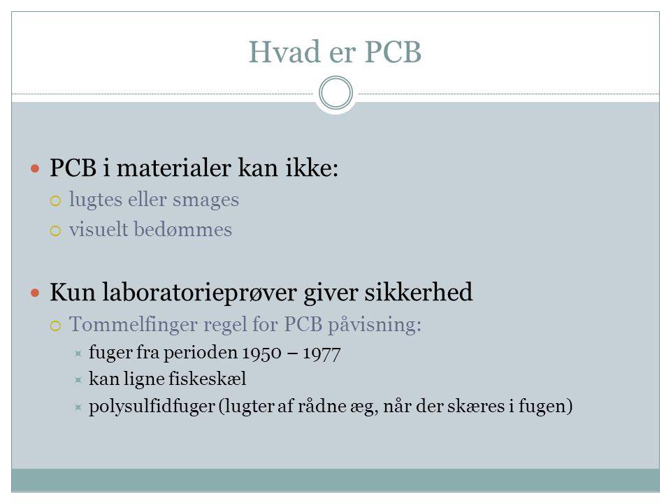 Hvad er PCB PCB i materialer kan ikke: