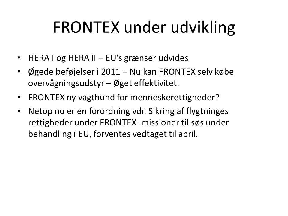 FRONTEX under udvikling