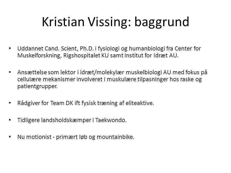 Kristian Vissing: baggrund