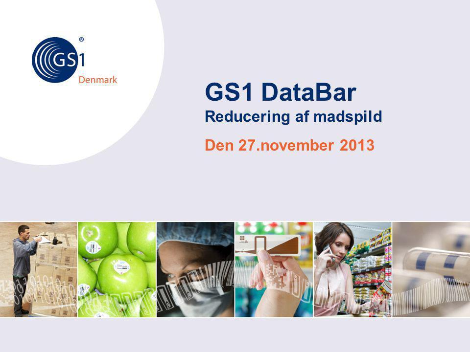 GS1 DataBar Reducering af madspild
