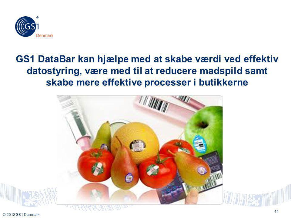 GS1 DataBar kan hjælpe med at skabe værdi ved effektiv datostyring, være med til at reducere madspild samt skabe mere effektive processer i butikkerne