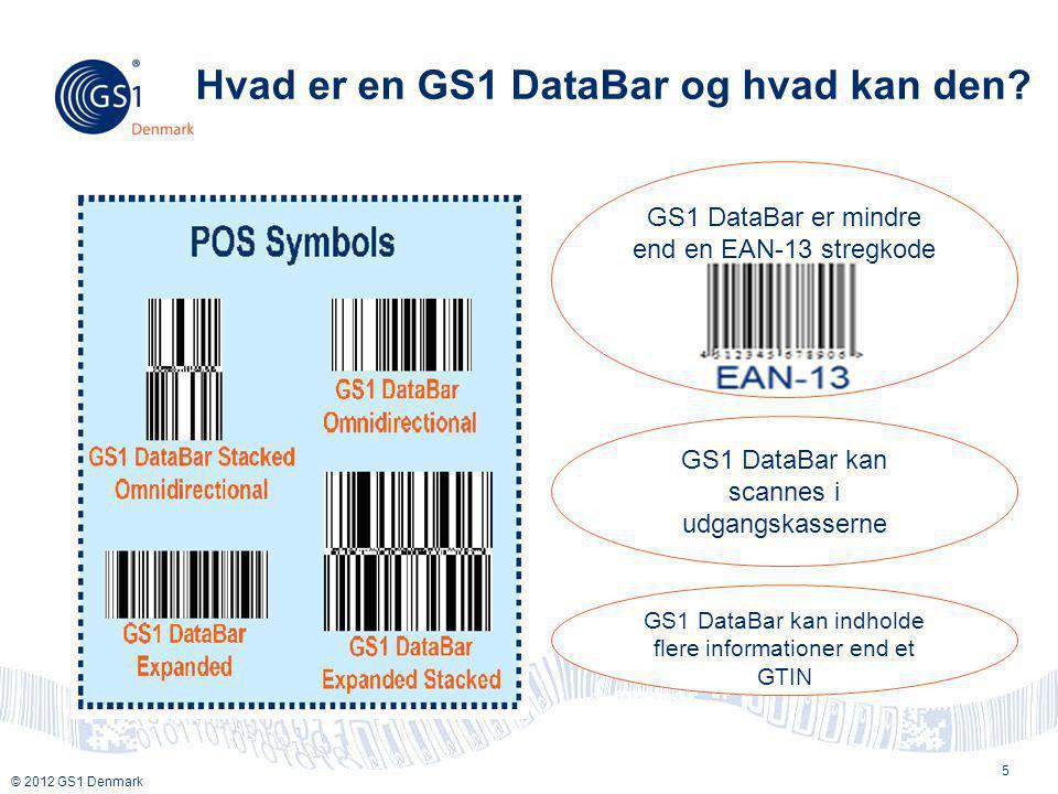 Hvad er en GS1 DataBar og hvad kan den