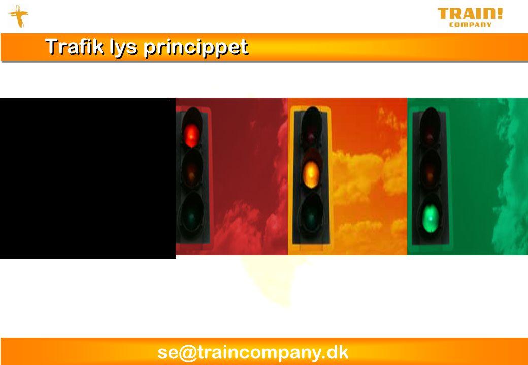 Trafik lys princippet