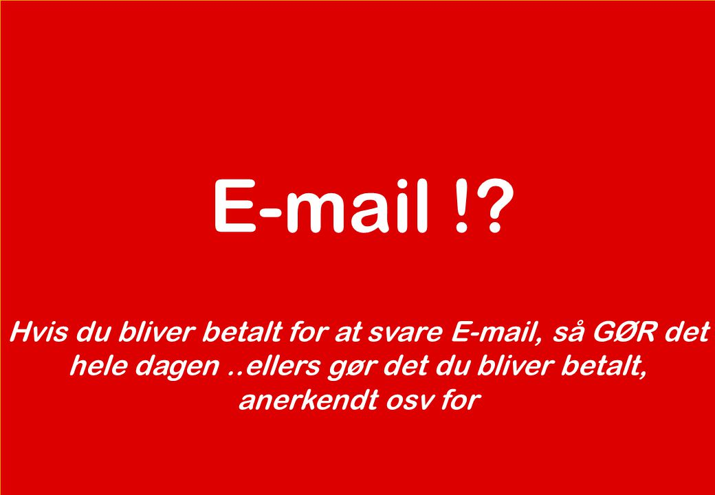 E-mail !.