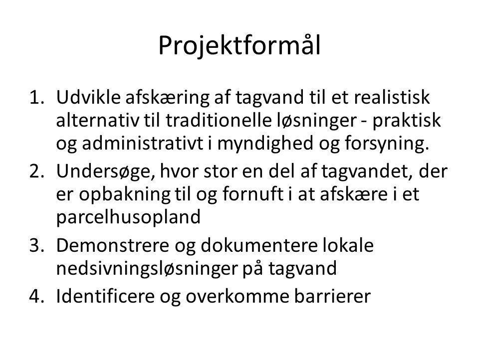 Projektformål