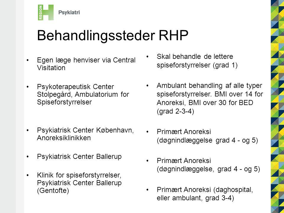 Behandlingssteder RHP