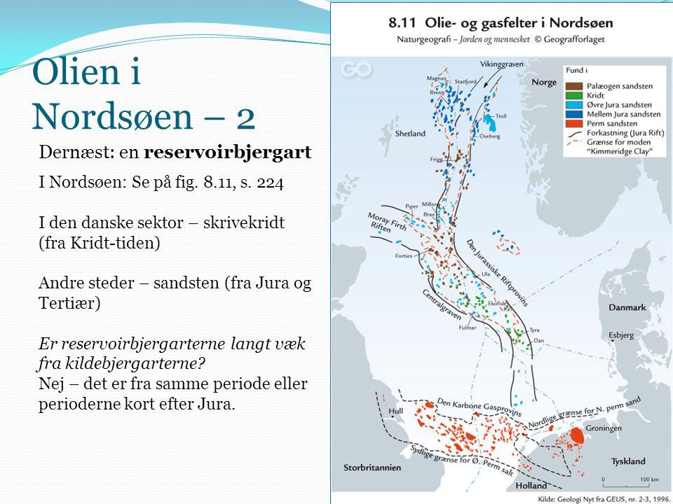 Olien i Nordsøen – 2 Dernæst: en reservoirbjergart