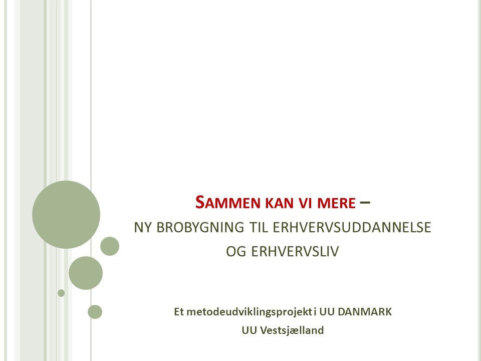 Et metodeudviklingsprojekt i UU DANMARK UU Vestsjælland