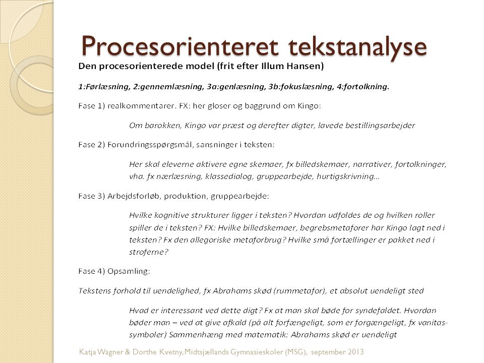 Procesorienteret tekstanalyse