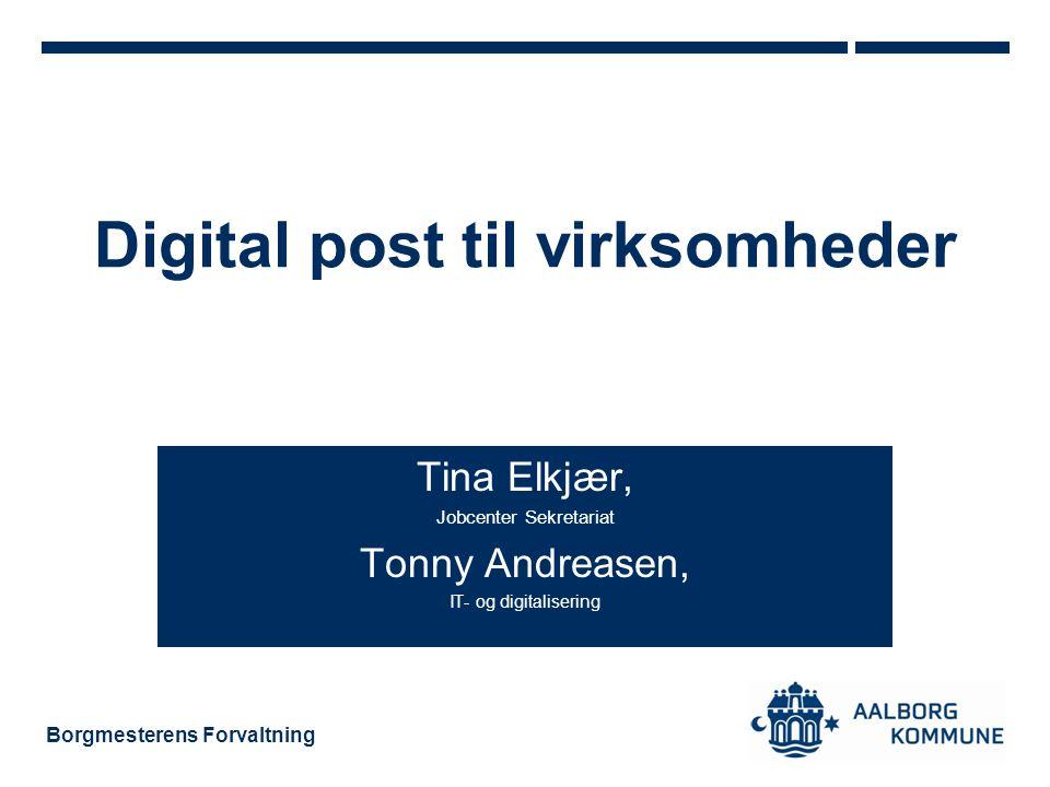 Digital post til virksomheder