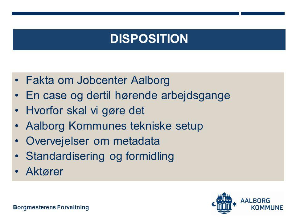 Disposition Fakta om Jobcenter Aalborg