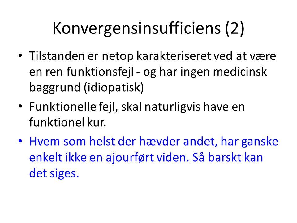 Konvergensinsufficiens (2)