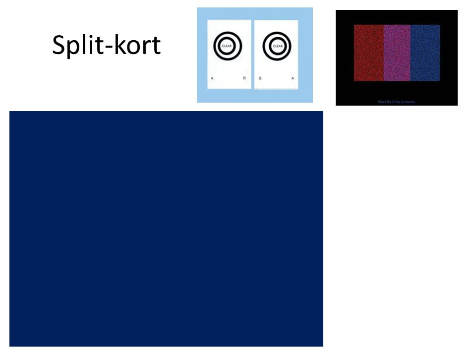 Split-kort