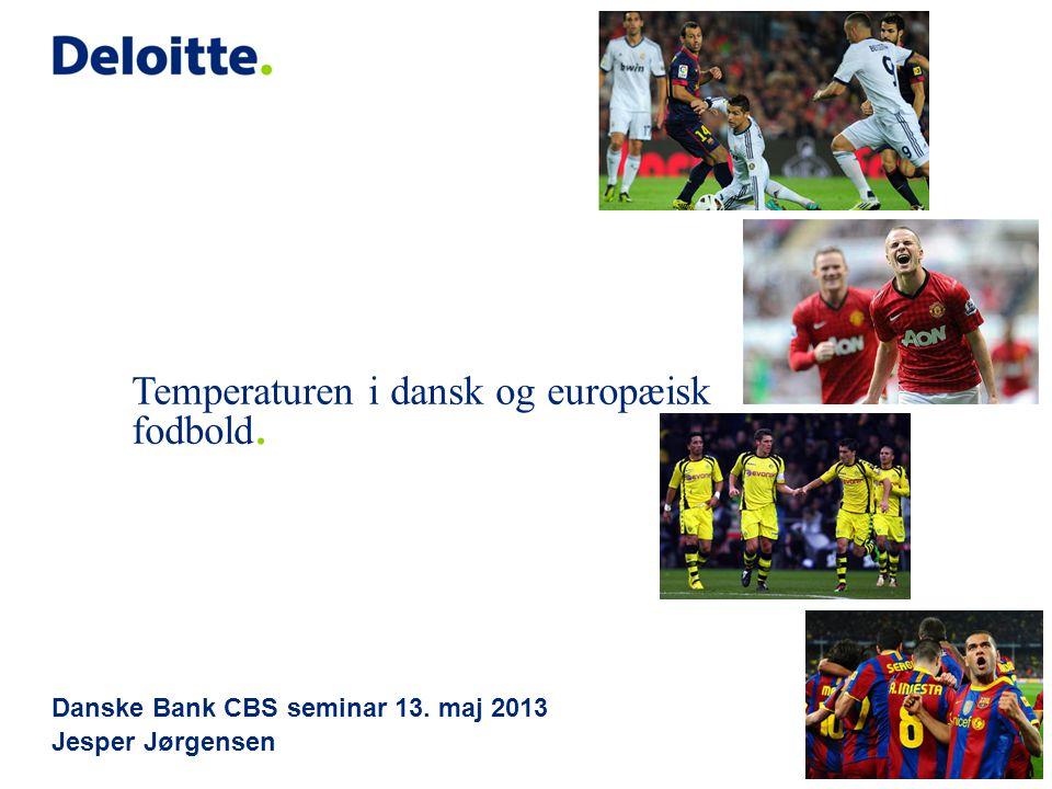 Danske Bank CBS seminar 13. maj 2013 Jesper Jørgensen