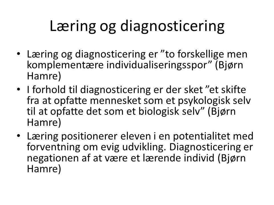 Læring og diagnosticering